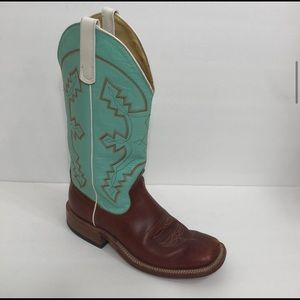 Anderson Bean Boot Co Turquoise Boots S1016